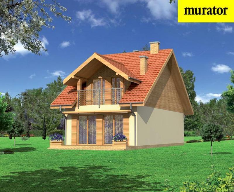 Проект одноэтажного дома с мансардой - муратор ц203а rpm1888.