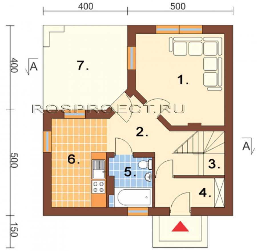 Схема уютного дома