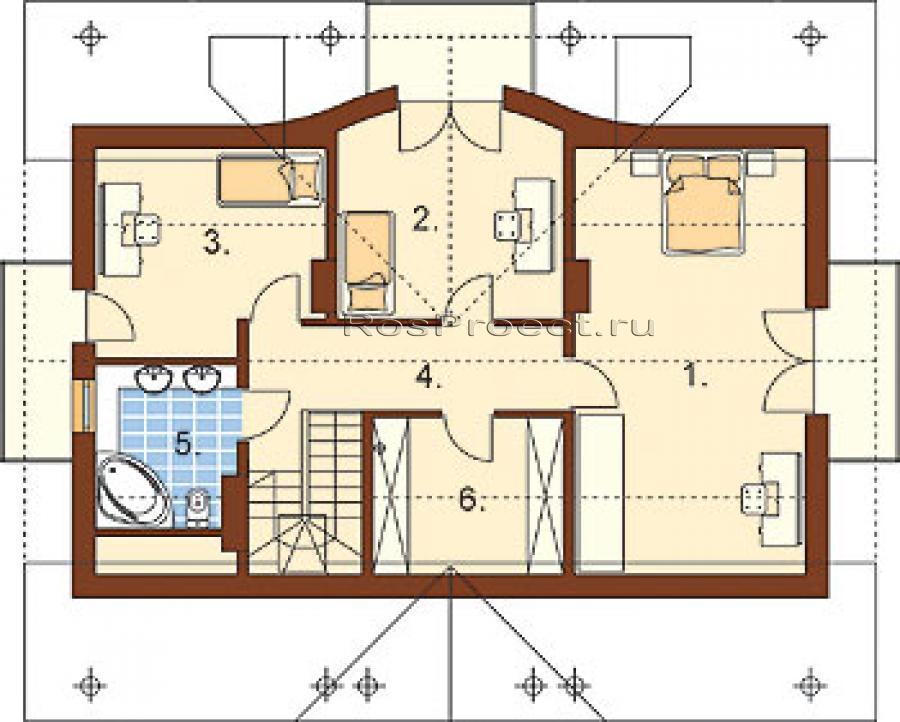 Что лучше одноэтажный дом или коттедж с мансардой 37